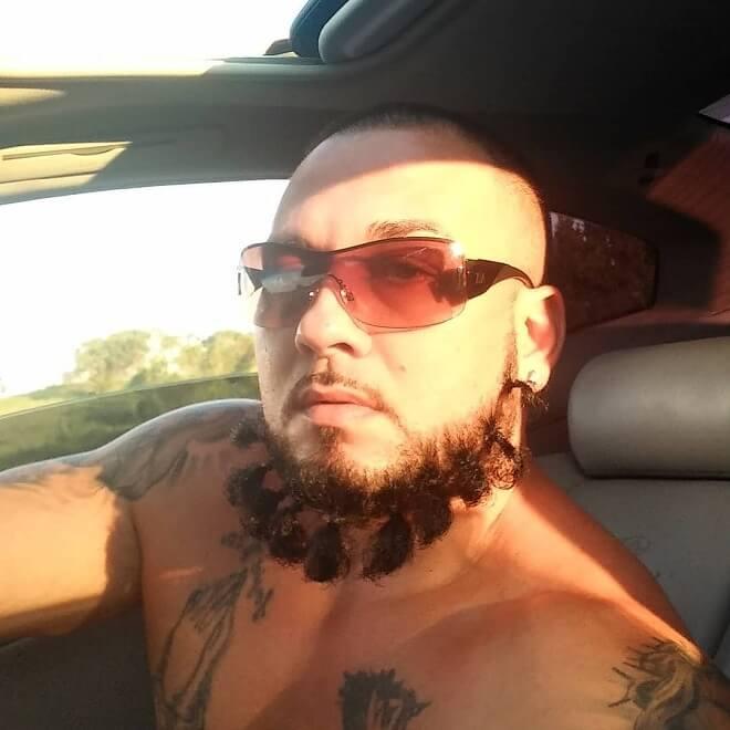 Twisted Braid Beard