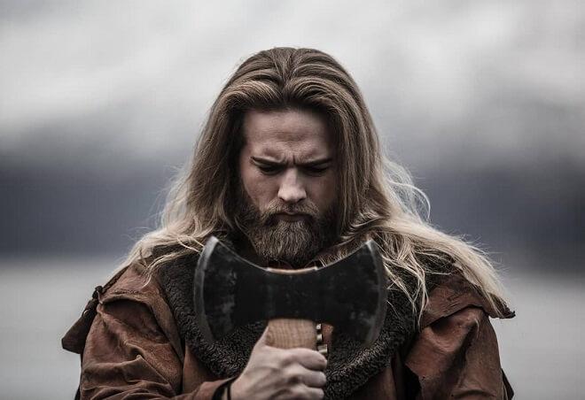 Viking Messy Hair