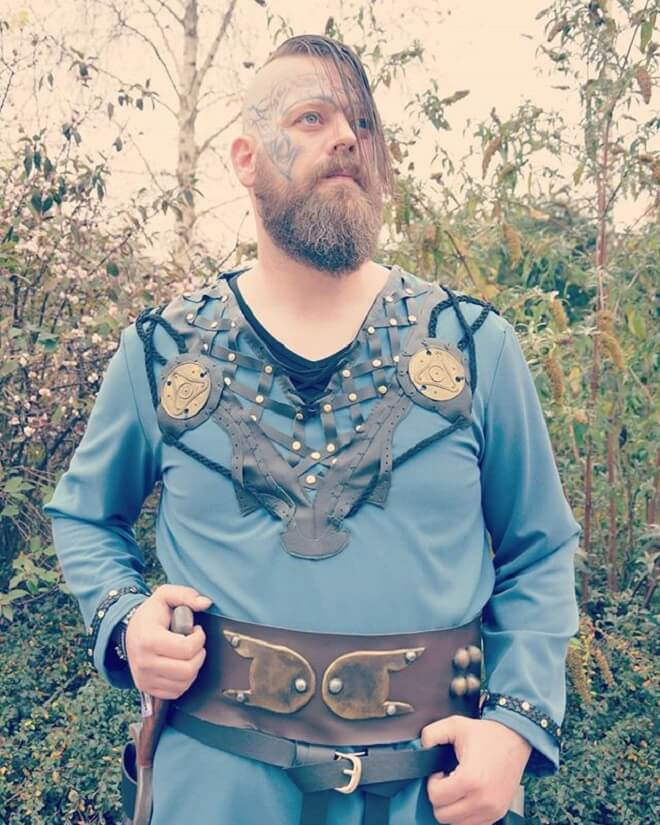 Viking cosplay