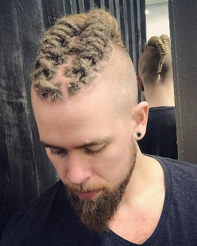 Viking short dreads