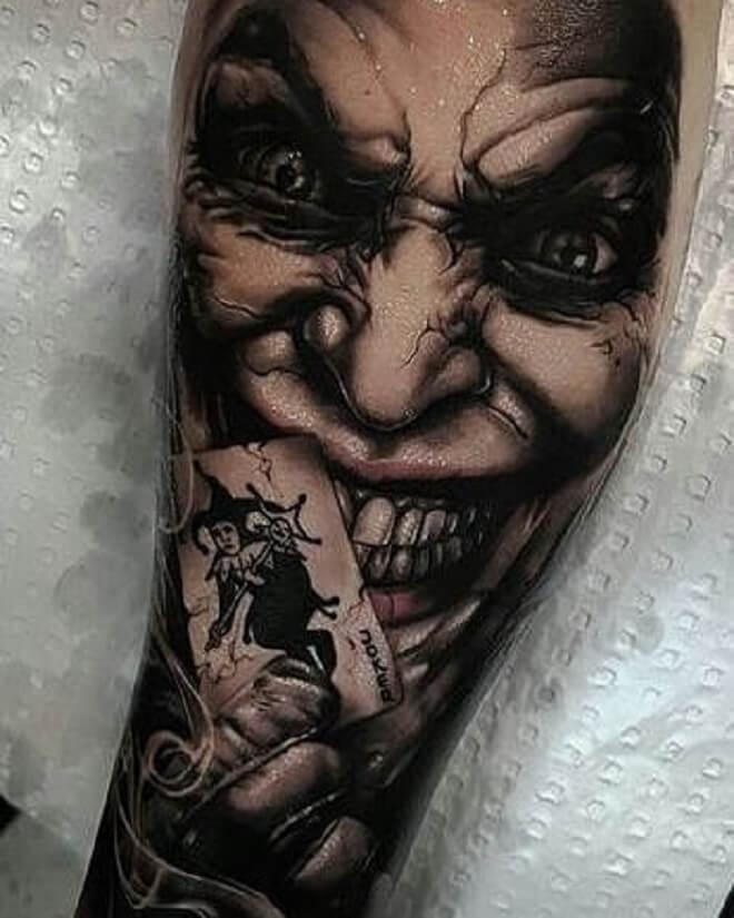 Villian tattoo