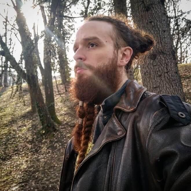 Braide beard