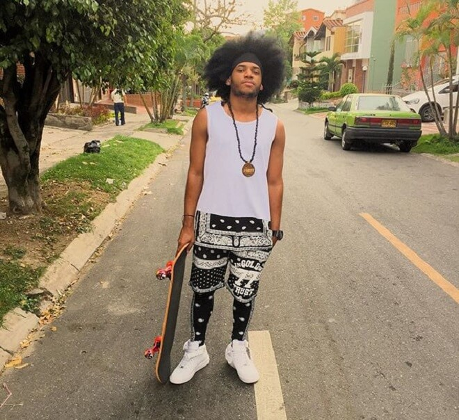 Afro Skater Haircut
