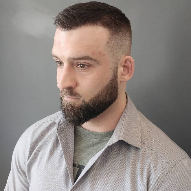Beard Fade Haircut