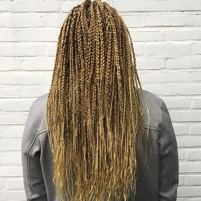 Blonde Hair Twist