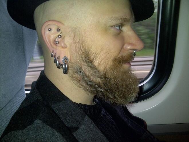 Braided Beard