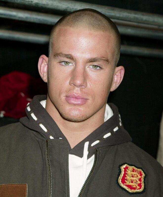Burr Haircut Channing Tatum Style