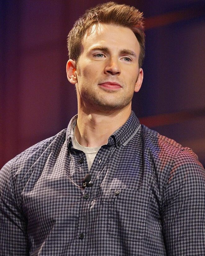 Captain America New Hairstyle