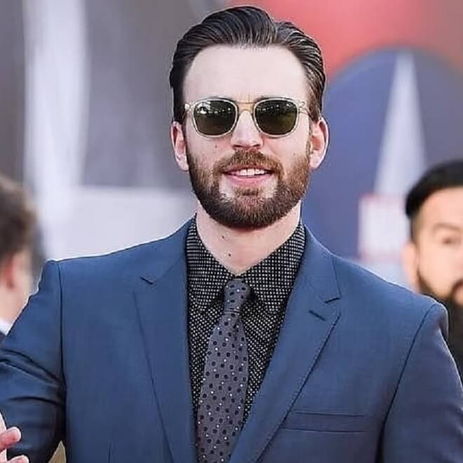 Captain America Stylish Look With Beard