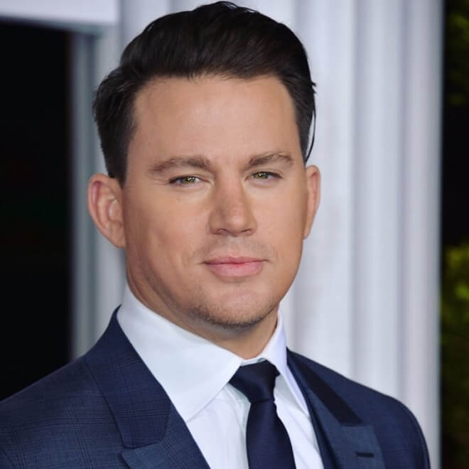 Channing Tatum Combover with Side Part