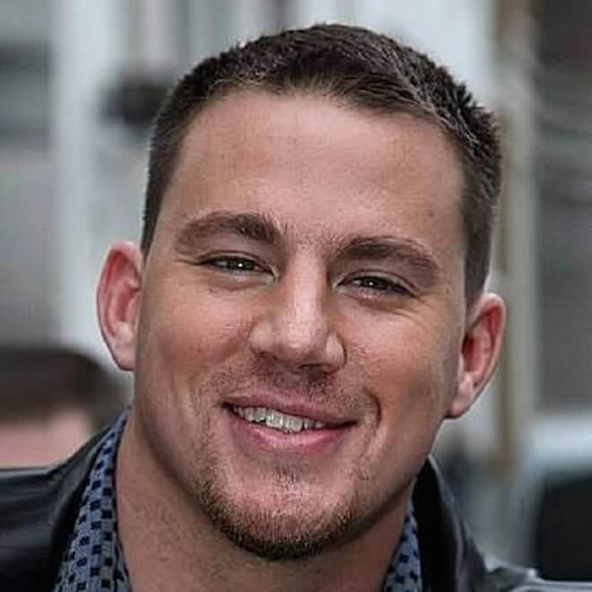 Channing Tatum Crew Cut Hairstyle
