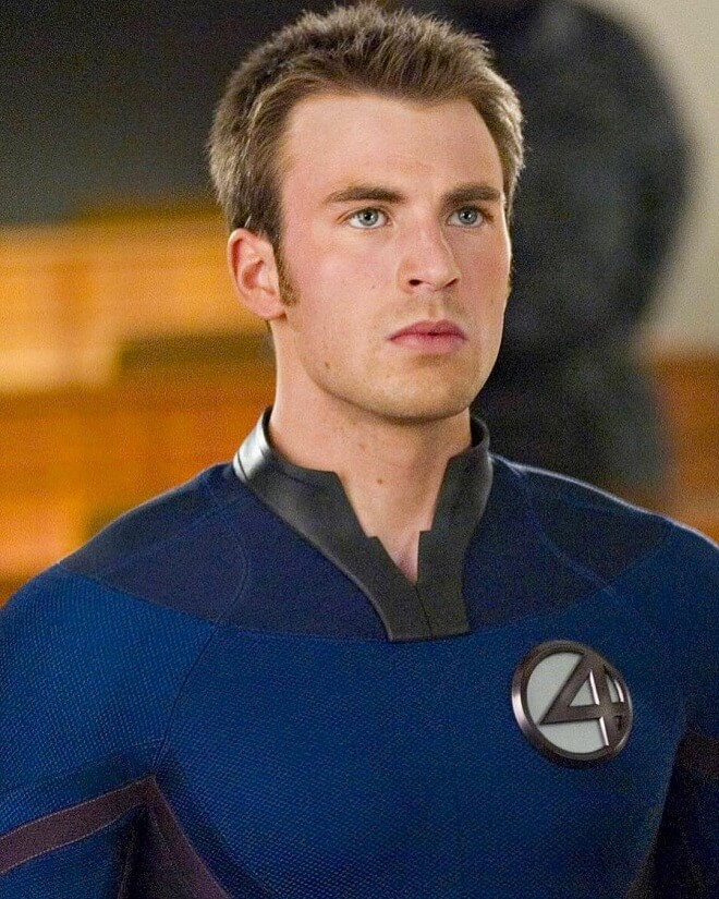 Chris Evans Fantastic Four Hairstyles