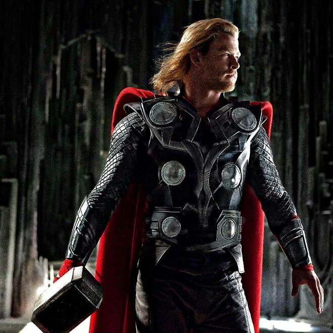 Chris Hemsworth Avengers Infinity War Hairstyle