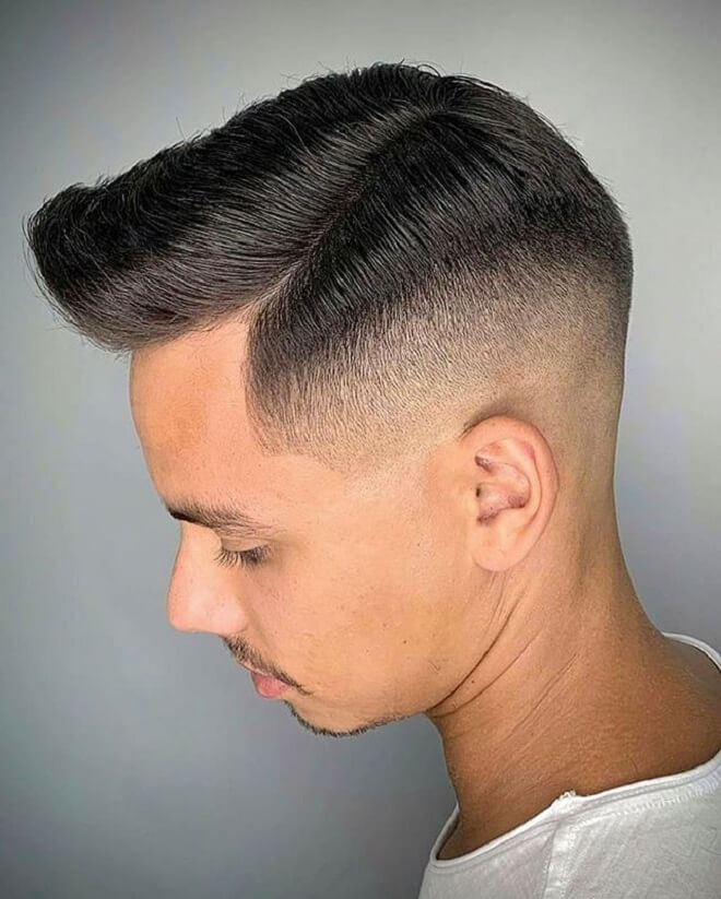 Comb Over Styles With Fade