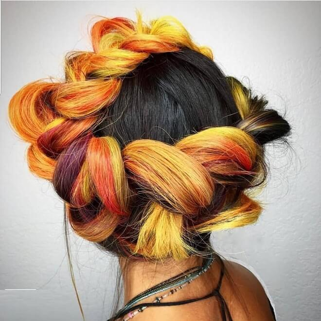 Crown Hairstyle