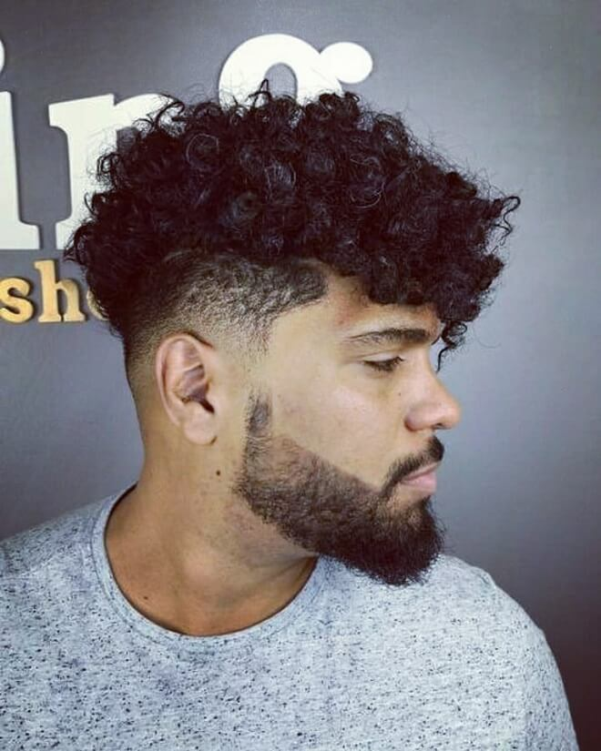 Top 30 Best Curly Undercut Hairstyle For Men