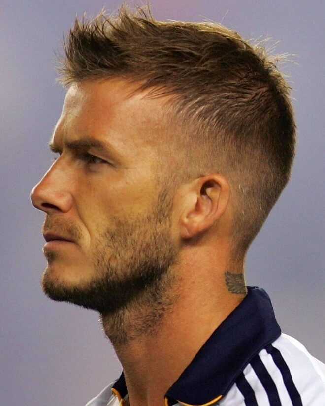 David Beckham Classic Beard Style