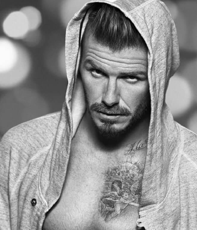 David Beckham Goatee Style