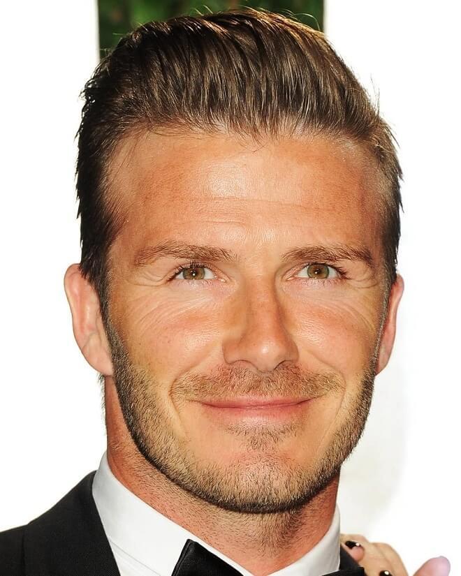 David Beckham Stubble Beard
