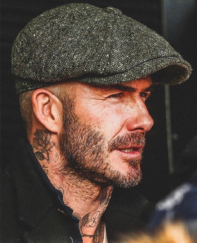 David Beckham Stylish Beard For Guys