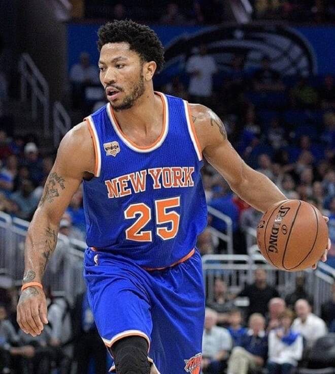 Derrick Rose Afro Hairstyles