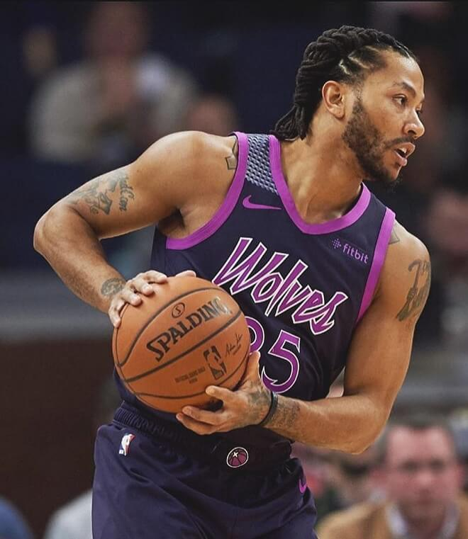 Derrick Rose Dread Braids Hairstyles