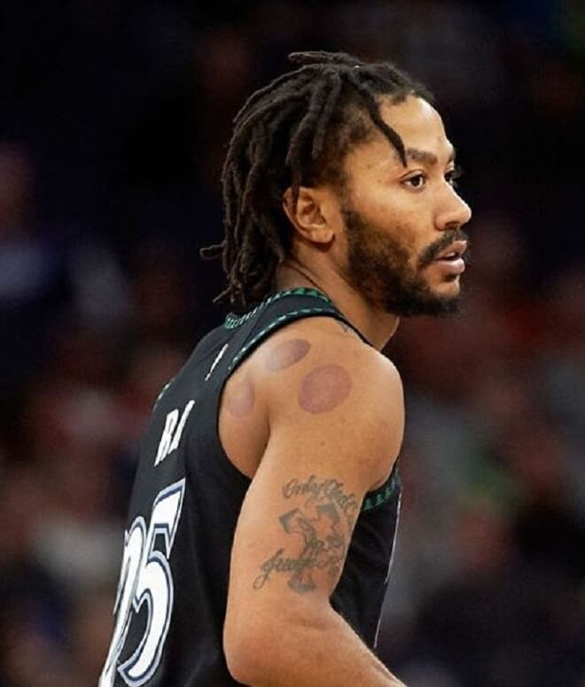 Derrick Rose Drealock With Low Temp Fade