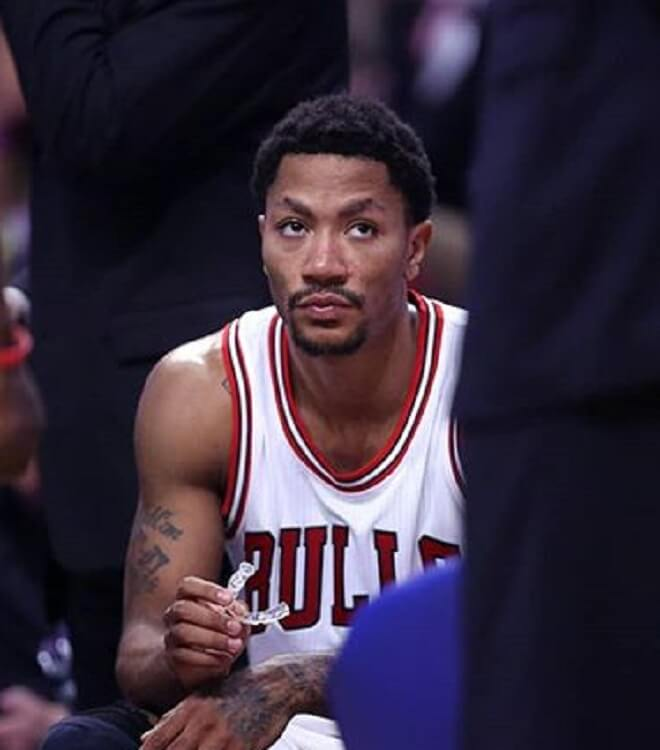 Derrick Rose Short Afro Style
