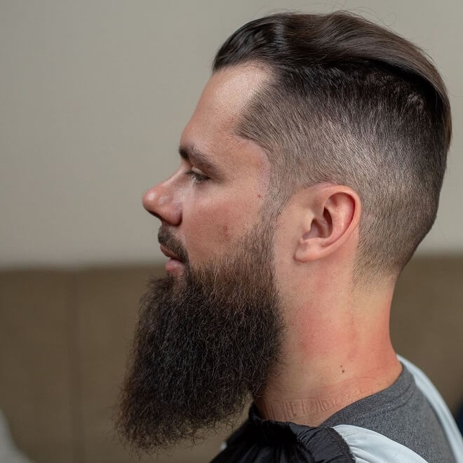 Fade With Long Beard Styles