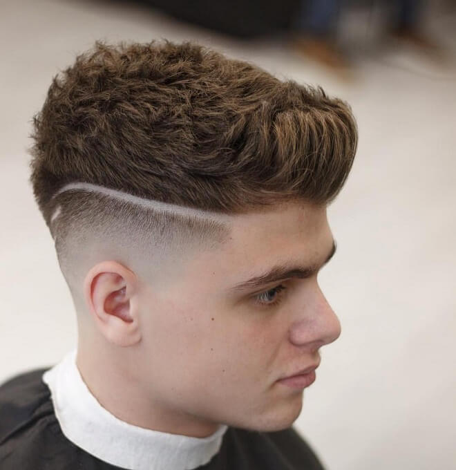 Fade with Spiked Front