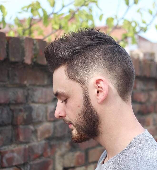 Faux Hawk Skater Haircut