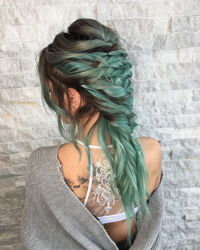 Fishtail Hairstyle