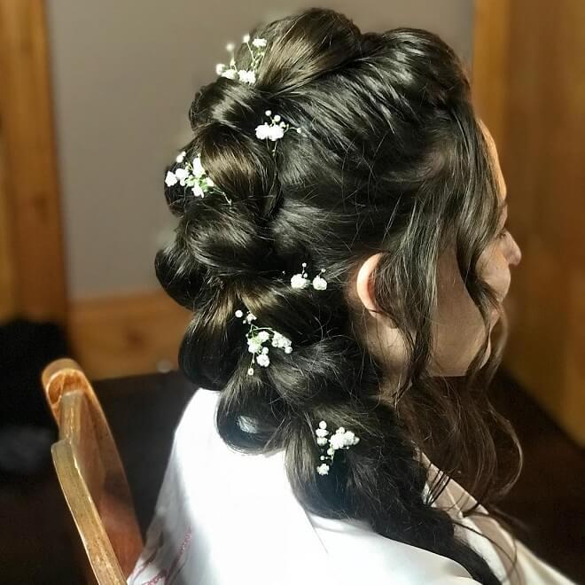 Folded Mermaid Hairstyle