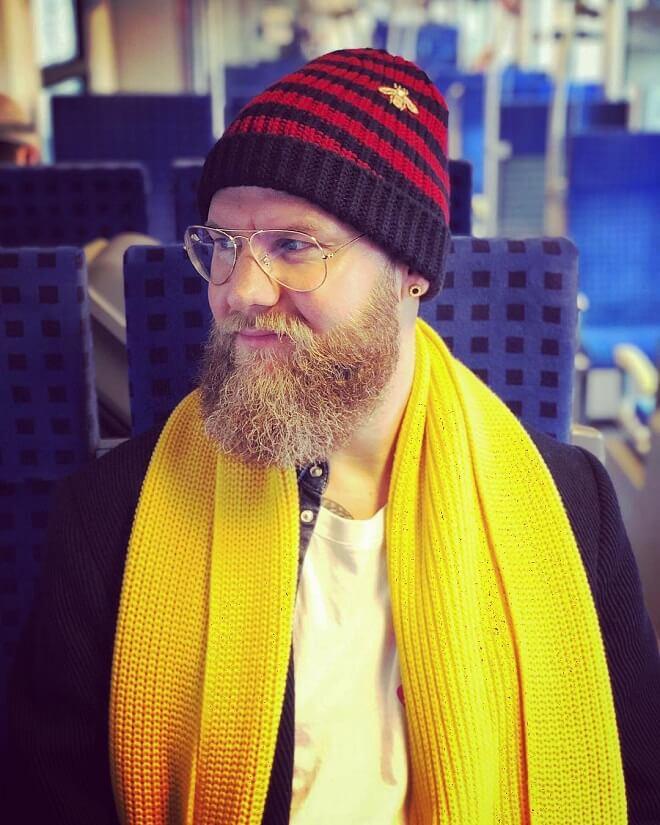 Full Beard Style For Men