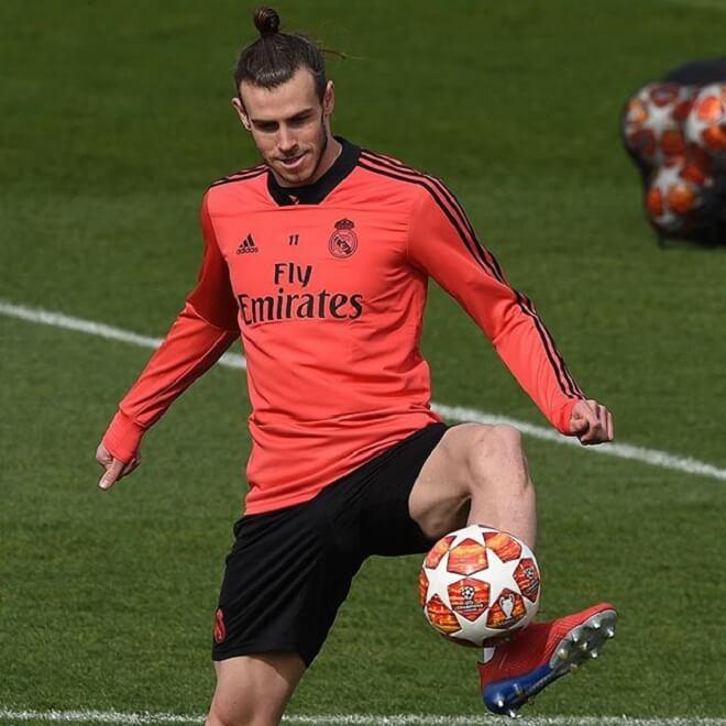 Gareth Bale Bun Styles