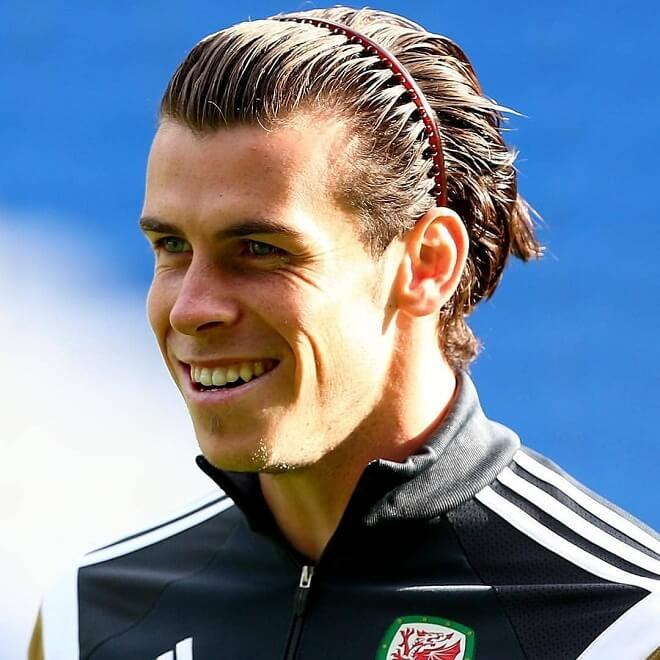 Gareth Bale Hairstyle with Headband