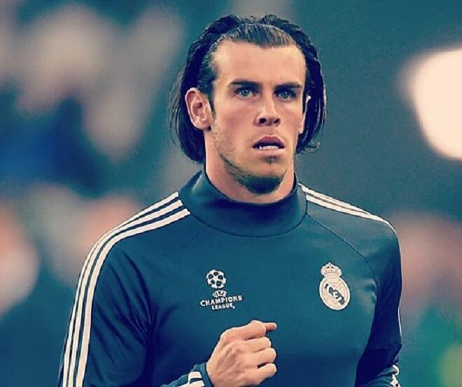 Gareth Bale Medium Length Hairstyle