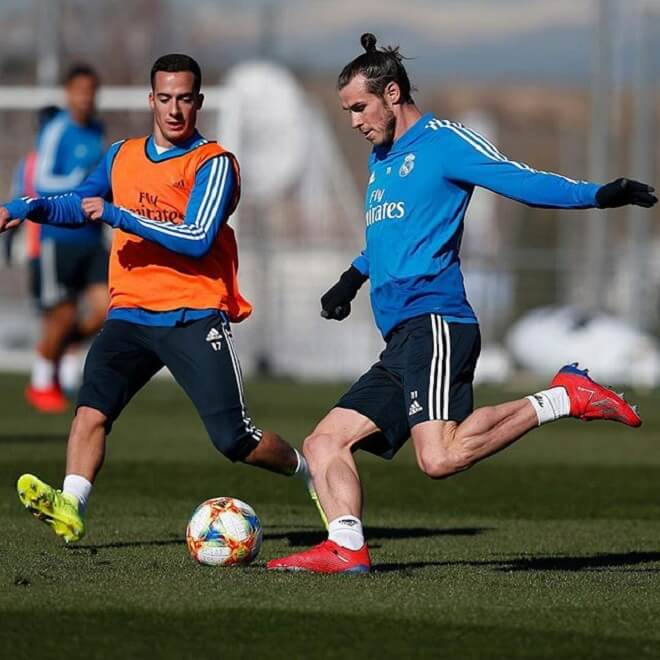 Gareth Bale Top Knot Hairstyles