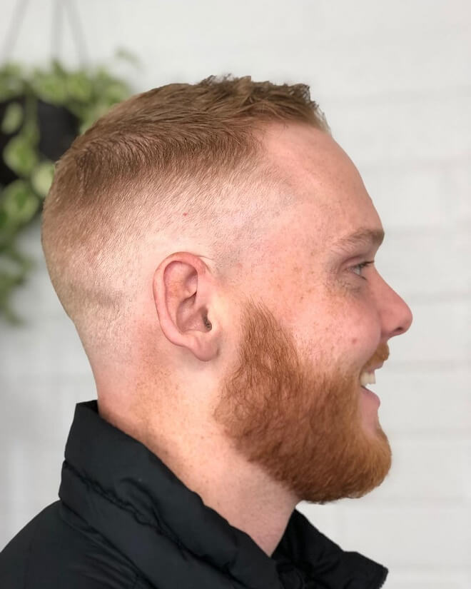 High Fade With Short Hairstyle
