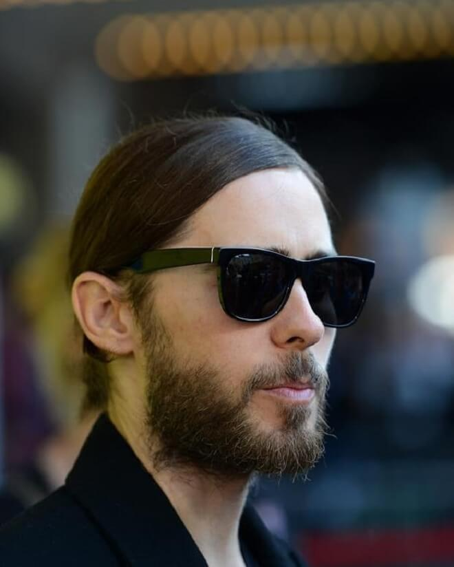 Jared Leto Hairstyles With Beard Styles