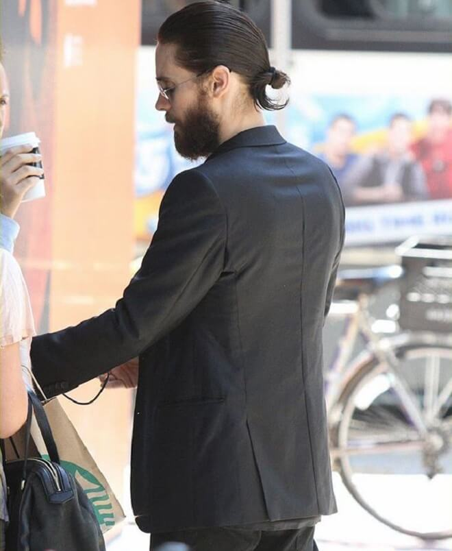 Jared Leto Knot Hairstyles