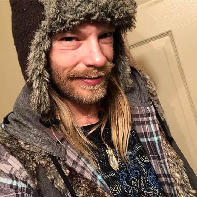 Long Hair With Beard Style