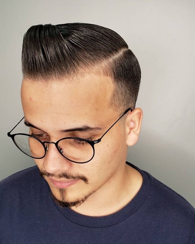 Low Fade With Front High