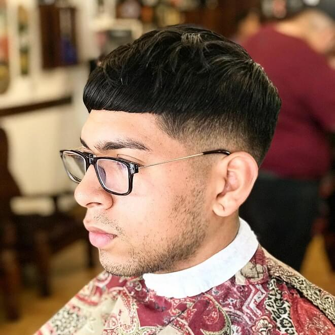 Low Temp Fade Haircut