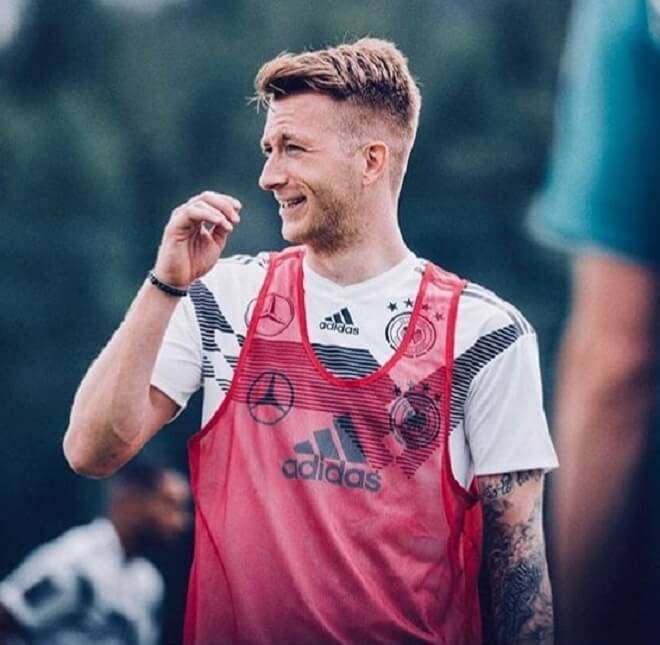 Marco Reus Casual Hairstyle