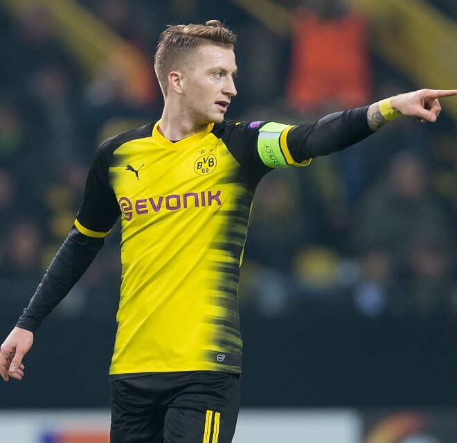 Marco Reus Comb Over Hairstyles