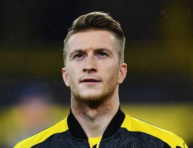 Marco Reus Comb Over with Side Parting