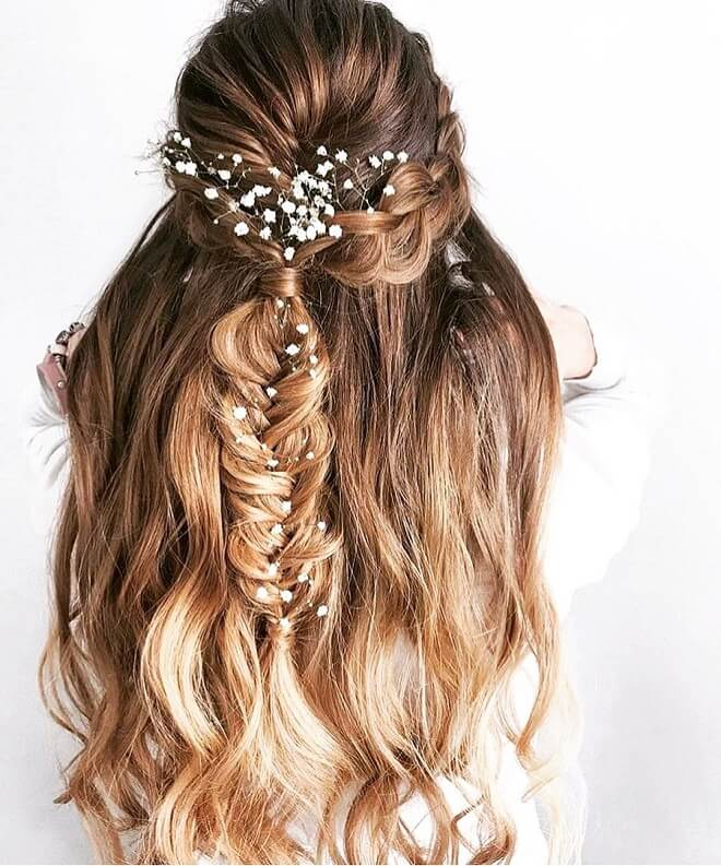 Mermaid Crown Hairstyle
