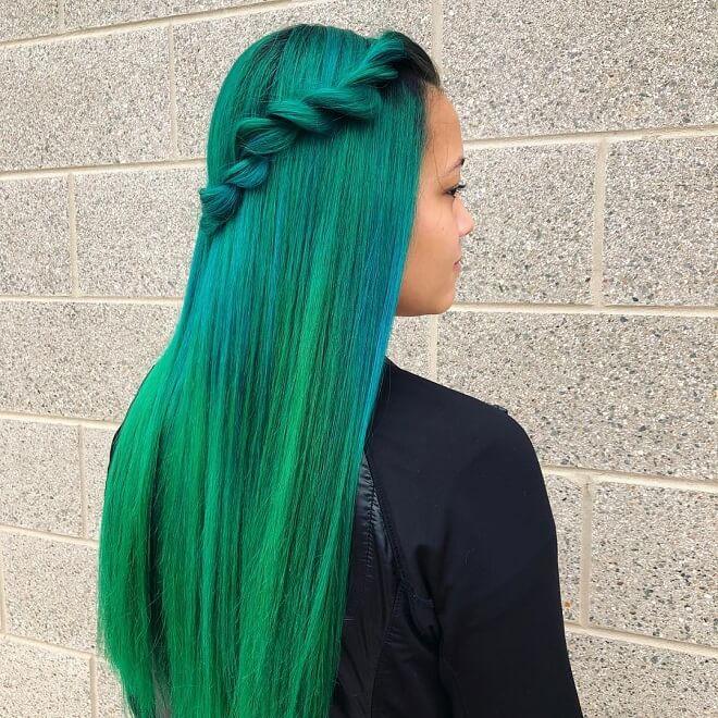 Mermaid Hairstyle For Long Hair