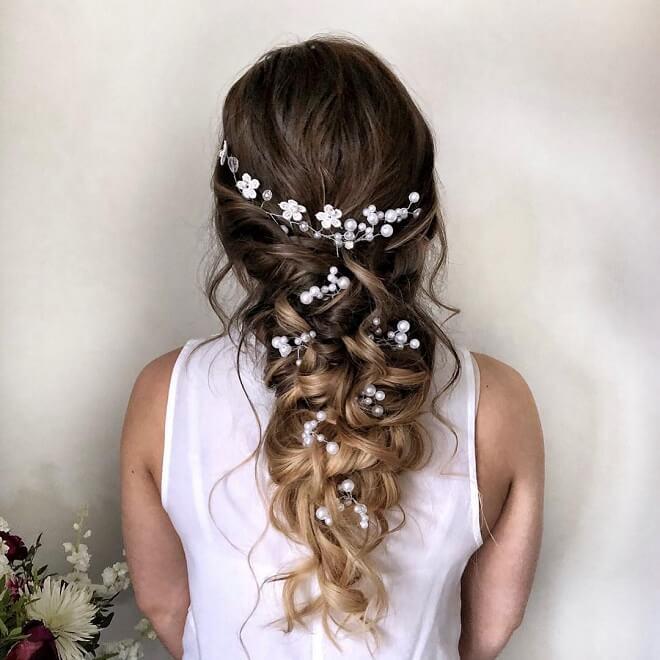 Mermaid Hairstyles For Wedding